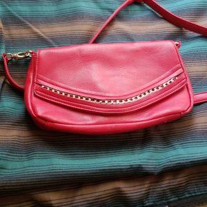 Vieta Red Shoulder Bag